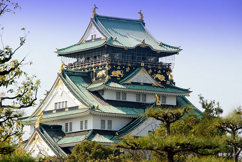 10 สถานที่ท่องเที่ยวยอดนิยมของชาวต่างชาติ ปราสาทโอซากะ (Osaka Castle)