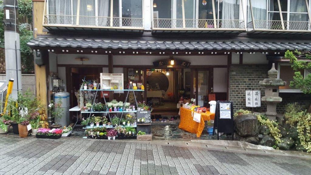 ถนนสายออนเซ็น เมืองอุเระชิโนะ จังหวัดซากะ