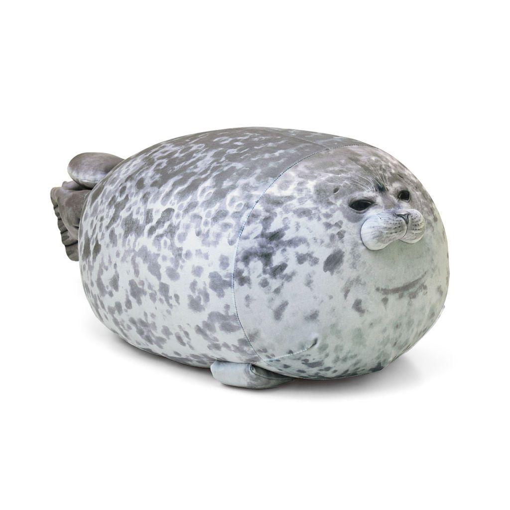 หมอนอิงแมวน้ำ ยูกิจัง ของพิพิธภัณฑ์สัตว์น้ำไคยูคัง โอซาก้า