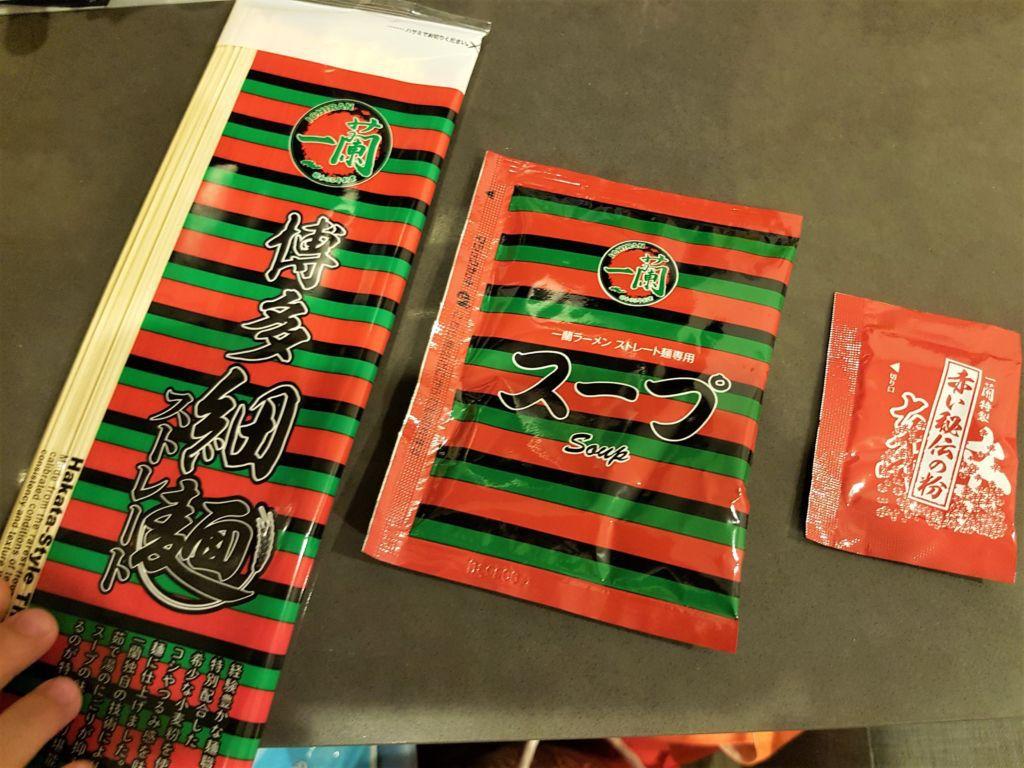Ichiran ramen (อิจิรัน ราเม็ง) หรือ ราเม็งข้อสอบ เเบบขายสำเร็จรูป รีวิวpantip