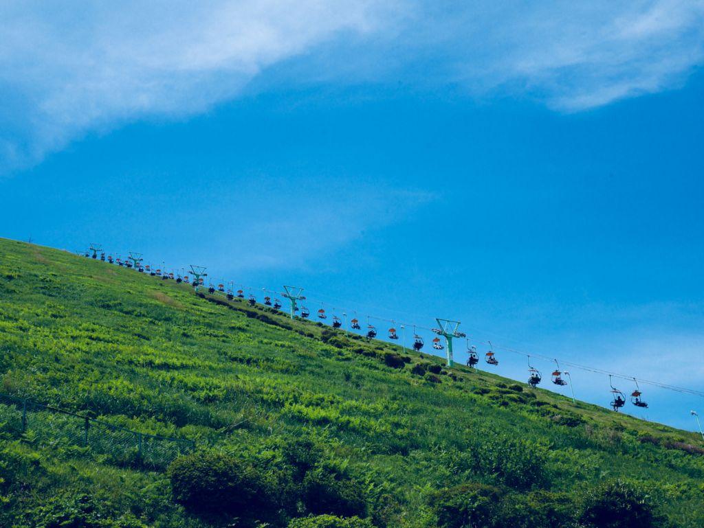 ภูเขาโอมูโระ (Mt.Omuro) ในเมืองอิโต (Ito)