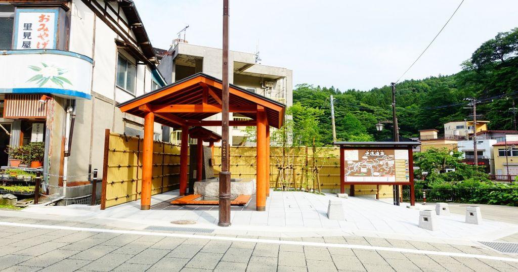 ที่พักโรงแรมเรียวกัง Tsuchiyu Onsen จังหวัดFukushima วิวดี บรรยากาศดี