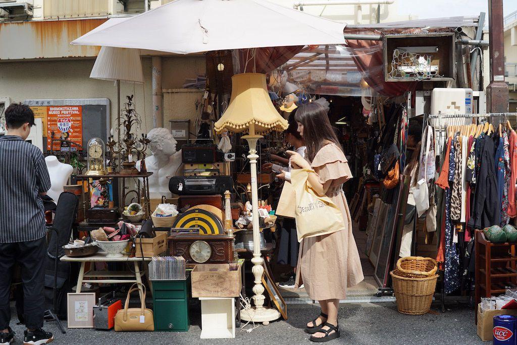 เดินเล่นตลาดนัดโตเกียว ย่าน Shimo Kitazawa