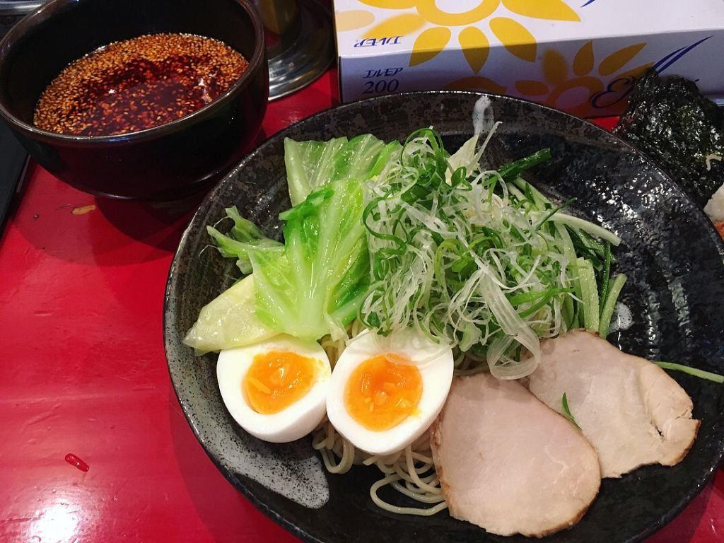 Tsukemen เผ็ดระดับ 100 ร้าน Bakudan-ya Hiroshima
