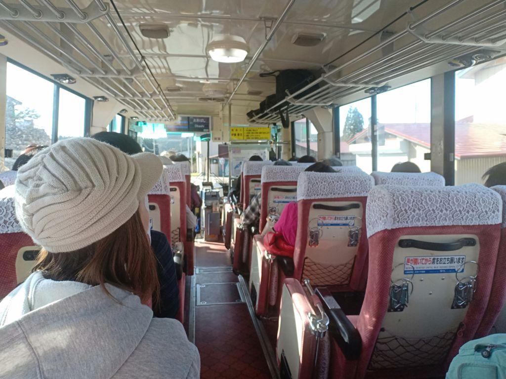 รถบัสพาเที่ยวรอบทะเลสาบทาซาวาโกะ จังหวัดอากิตะ