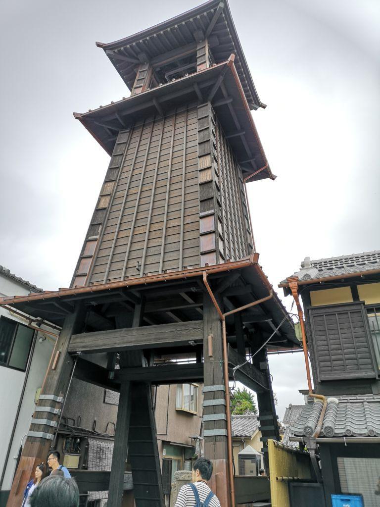 หอระฆังToki no kane พาเที่ยว Kawagoe เอโดะน้อยใกล้ Tokyo