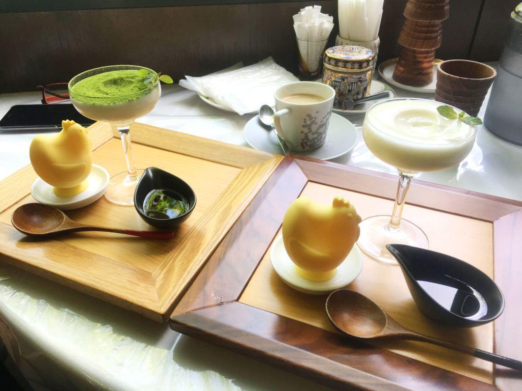 พาชิม!! ขนมนามะพุดดิ้ง+แม่ไก่ออกไข่! ที่คาเฟ่ญี่ปุ่น Shoyu Café เมือง YOKOHAMA จังหวัดคานาซาวะ