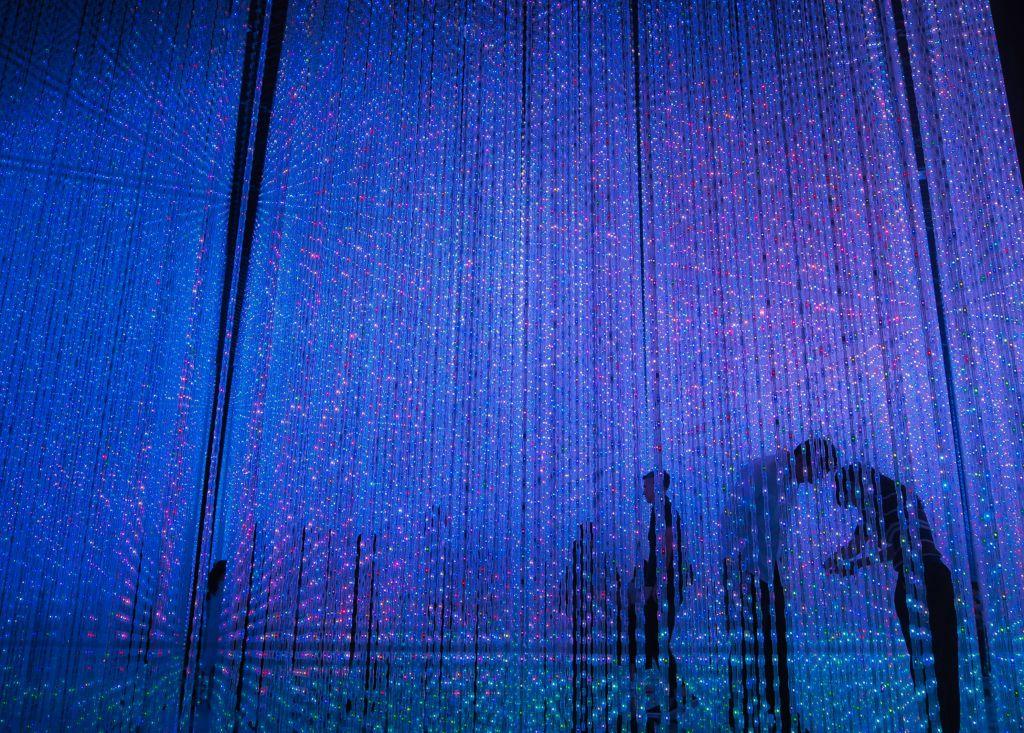 ห้องสายฝน DIGITAL ART MUSEUM @Tokyo