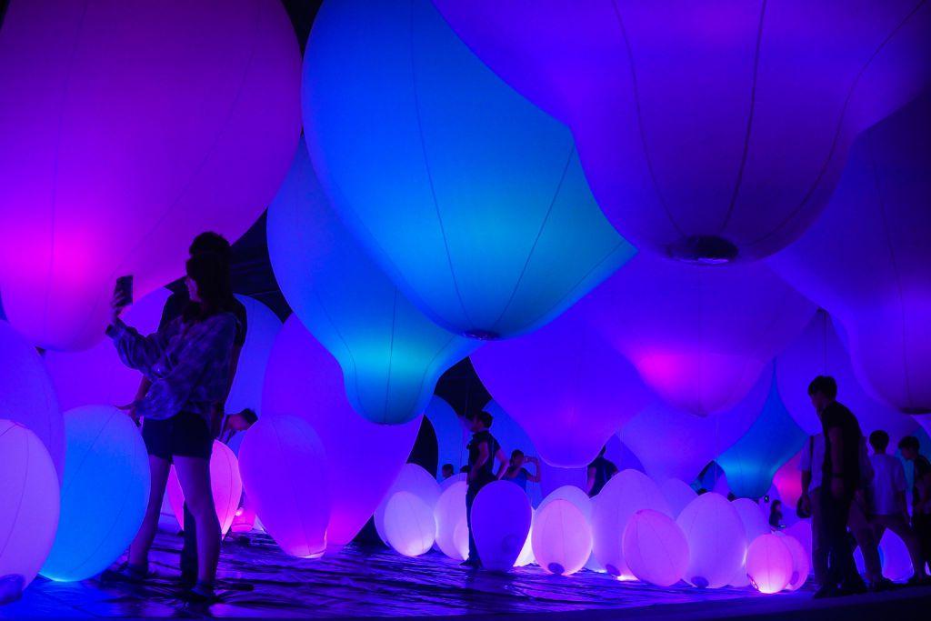 ห้องบอลลูน DIGITAL ART MUSEUM @Tokyo