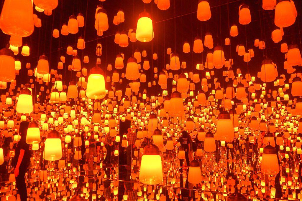 ห้องโคมไฟ DIGITAL ART MUSEUM @Tokyo