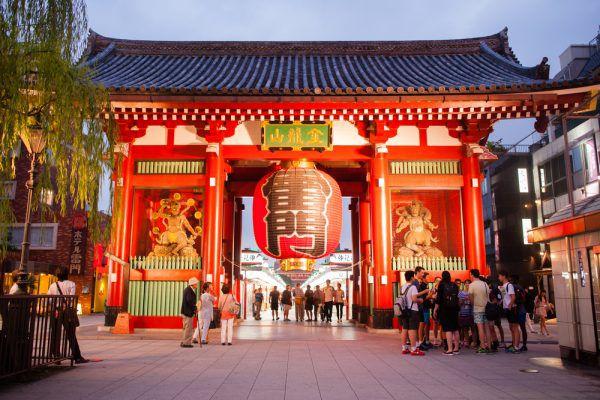 10 สถานที่ท่องเที่ยวยอดนิยมของชาวต่างชาติ วัดเซ็นโซจิ / วัดอาซากูสะ (Sensoji Temple / Asakusa)