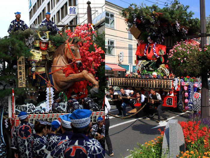 เทศกาลฤดูใบไม้ร่วงโมริโอกะ (Morioka Autumn Festival)