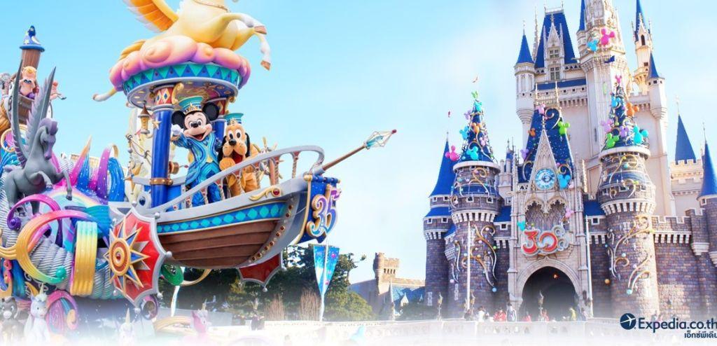 10 สถานที่ท่องเที่ยวยอดนิยมของชาวต่างชาติ โตเกียวดิสนีย์แลนด์ (Tokyo Disneyland)