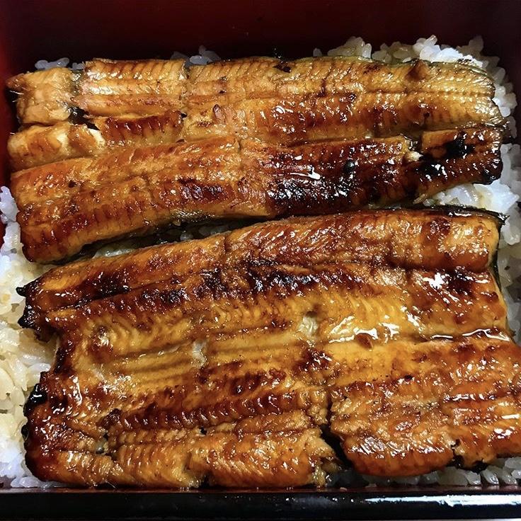 เมนูข้าวหน้าปลาไหล ร้าน Ichinoya