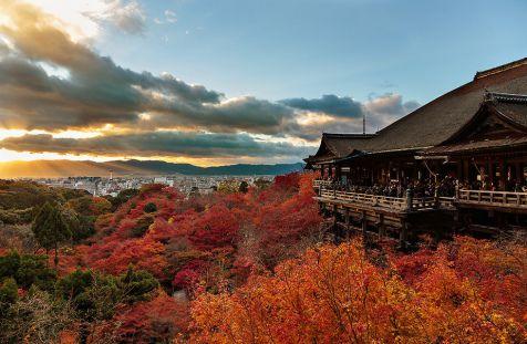 10 สถานที่ท่องเที่ยวยอดนิยมของชาวต่างชาติ วัดคิโยมิสึ เกียวโต (Kiyomizudera Temple, Kyoto)