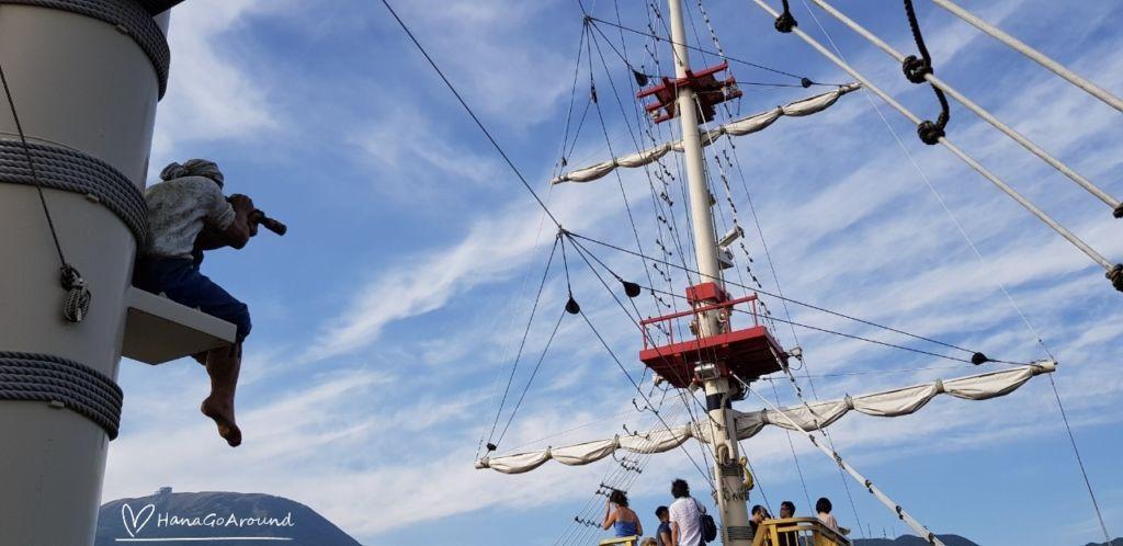 Hakone Sightseeing Cruise ตื่นตา ตื่นใจ ไปกับ การล่องเรือโจรสลัดท่องทะเลสาบอะชิ