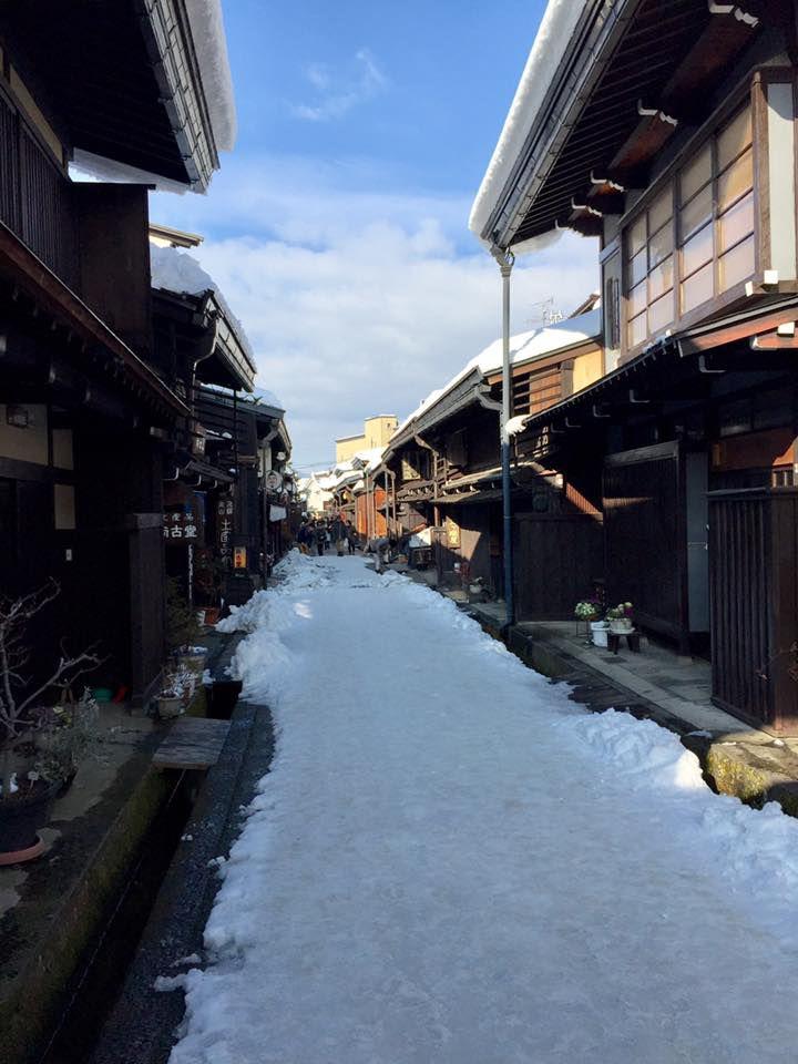 ย่านเมืองเก่า Furui-machi-nami เมืองทาคายาม่า จังหวัดกิฟุ