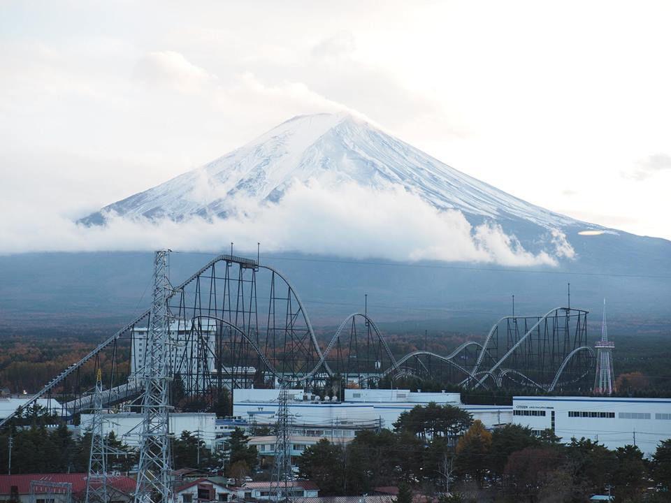 วิวภูเขาไฟฟูจิจากห้องพัก Hotel My Stays Fuji