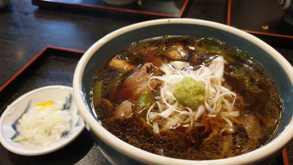 ร้านโซบะชื่อดัง Fukuan Soba แห่งหุบเขานรกเมือง Noboribetsu