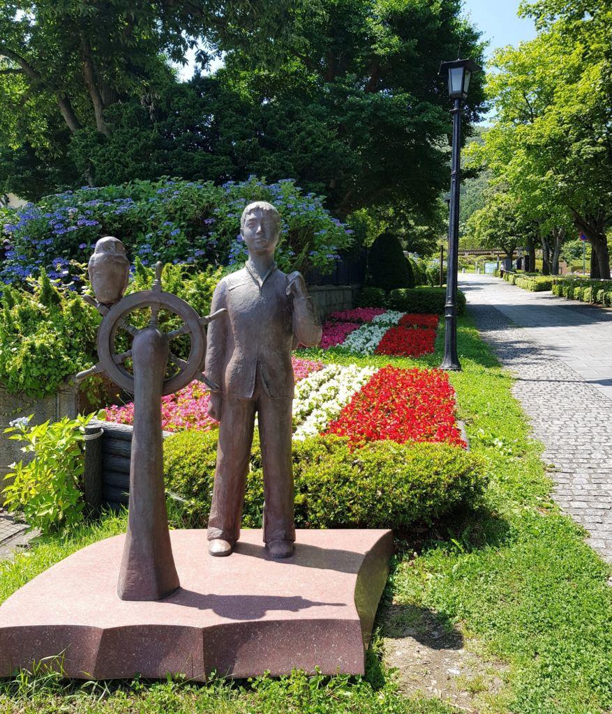 สวนโมโตมาจิและเนินฮาจิมันซากะ แห่งเมืองฮาโกดาเตะ