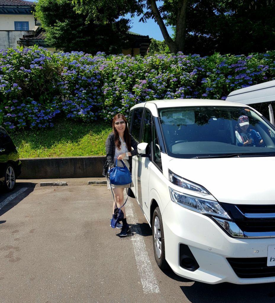 นั่งรถไปยังสวนโมโตมาจิและเนินฮาจิมันซากะ แห่งเมืองฮาโกดาเตะ