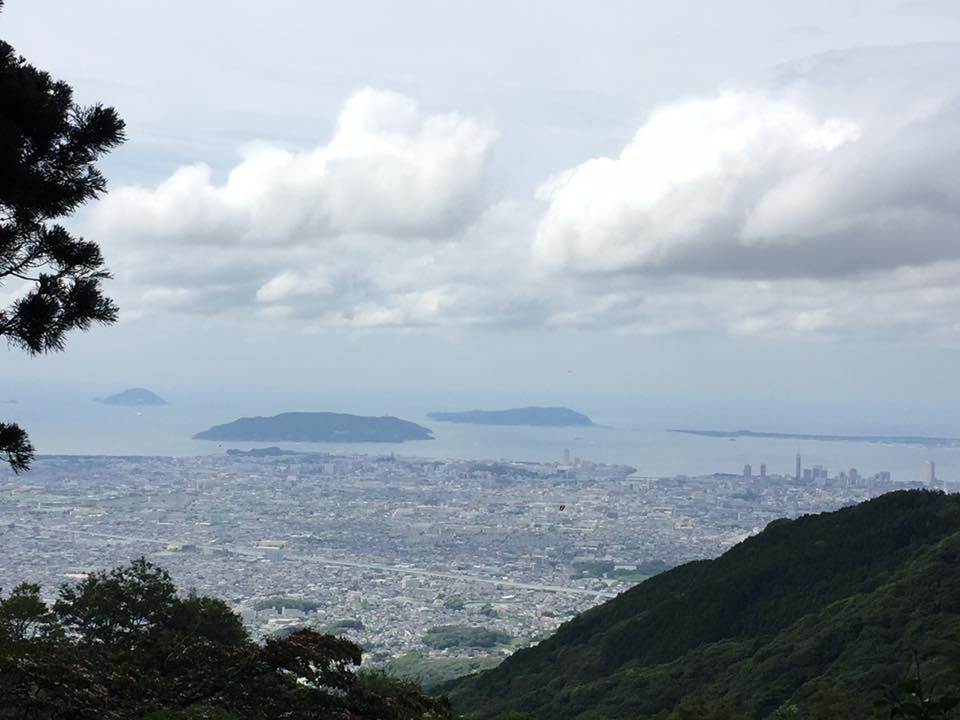 ภูเขาอาบุระยามะ(Aburayama) ที่ Fukuoka