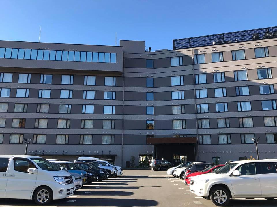 อาคารโรงแรม Hotel My Stays Fuji