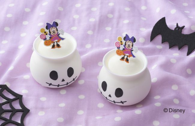 Minnie Mouse Milk Pudding