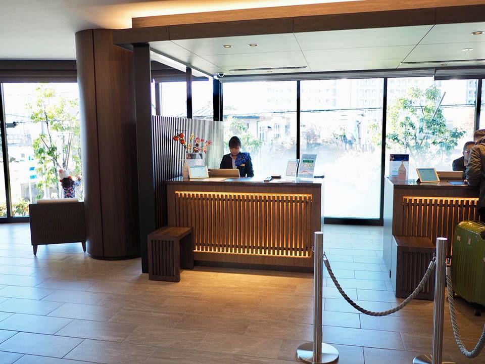 ล็อบบี้โรงแรม Hotel My Stays Fuji