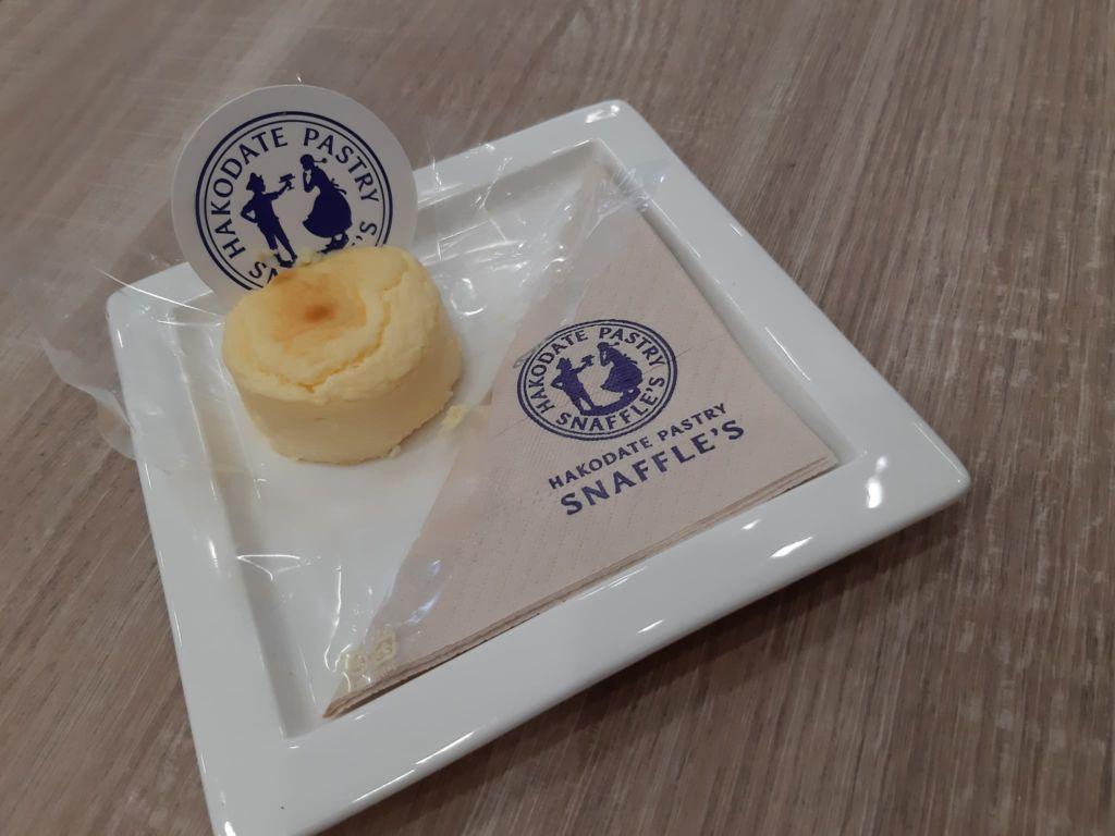 ชีสเค้กนำเข้าจากฮอกไกโด ร้าน Snaffle's ที่ Siam Square One ชั้น 5