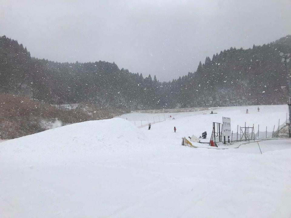 ลานสกี ที่ Tenzan Ski Resort จังหวัดซากะ