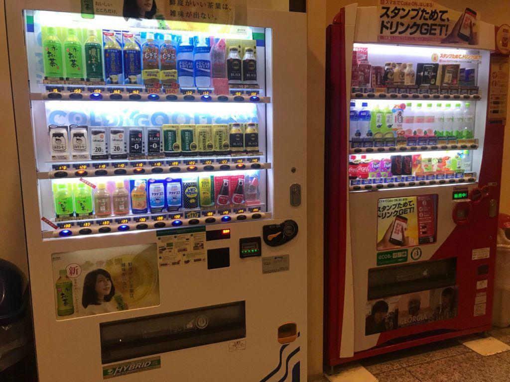 ตู้กดน้ำ โรงแรม Veile Tenjin Fukuoka