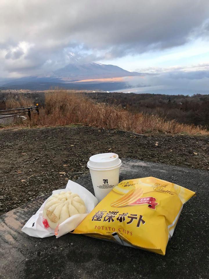 จุดชมวิวฟูจิจากมุมที่สูงที่สุด แถวทะเลสาบ Yamanakako