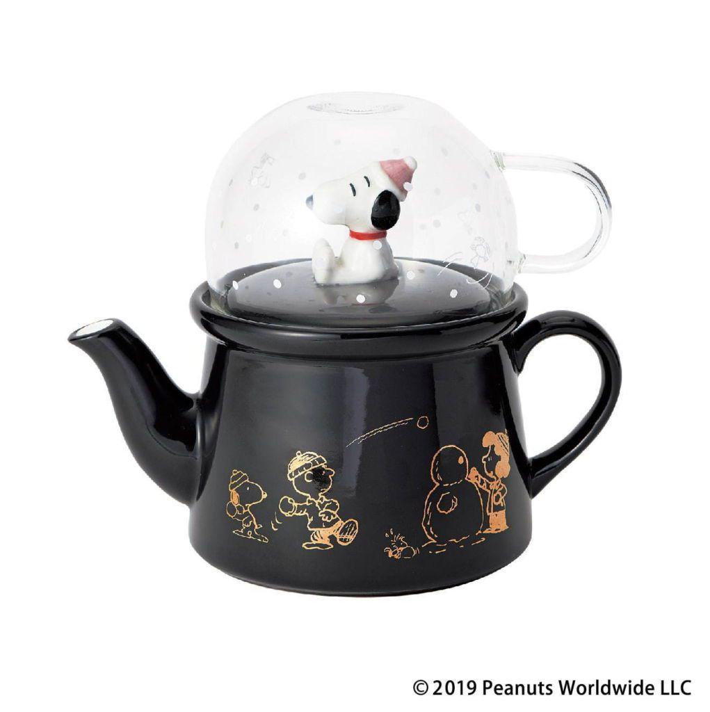 PEANUTSxAfternoon Tea ชุดกาน้ำร้อนกับแก้วคัพ