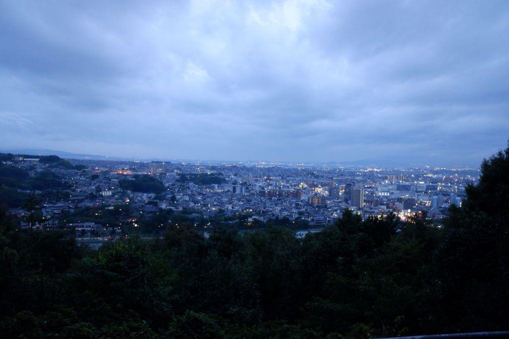 จุดชมวิวบนเขา Daikichiyama เมืองอุจิ เกียวโต