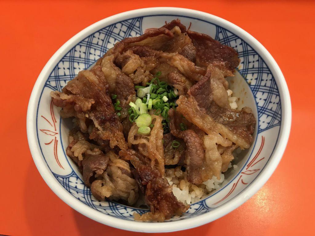 ข้าวหน้าเนื้อย่าง Gyunoya (กิวโนยะ) ร้านอาหารญี่ปุ่น ซอยธนิยะ