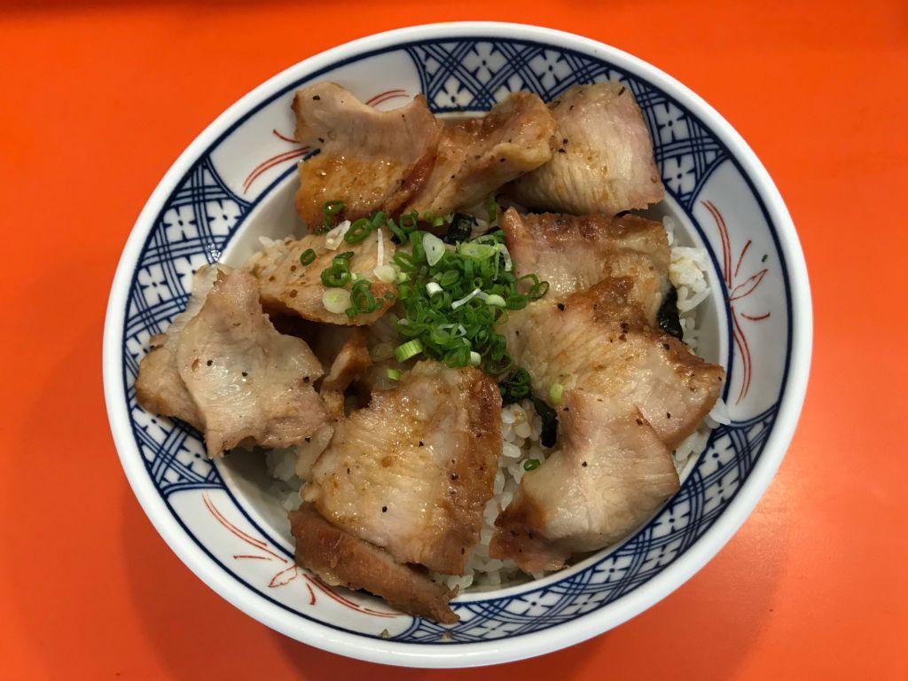 ข้าวหมูย่างถ่าน Gyunoya (กิวโนยะ) ร้านอาหารญี่ปุ่น ซอยธนิยะ