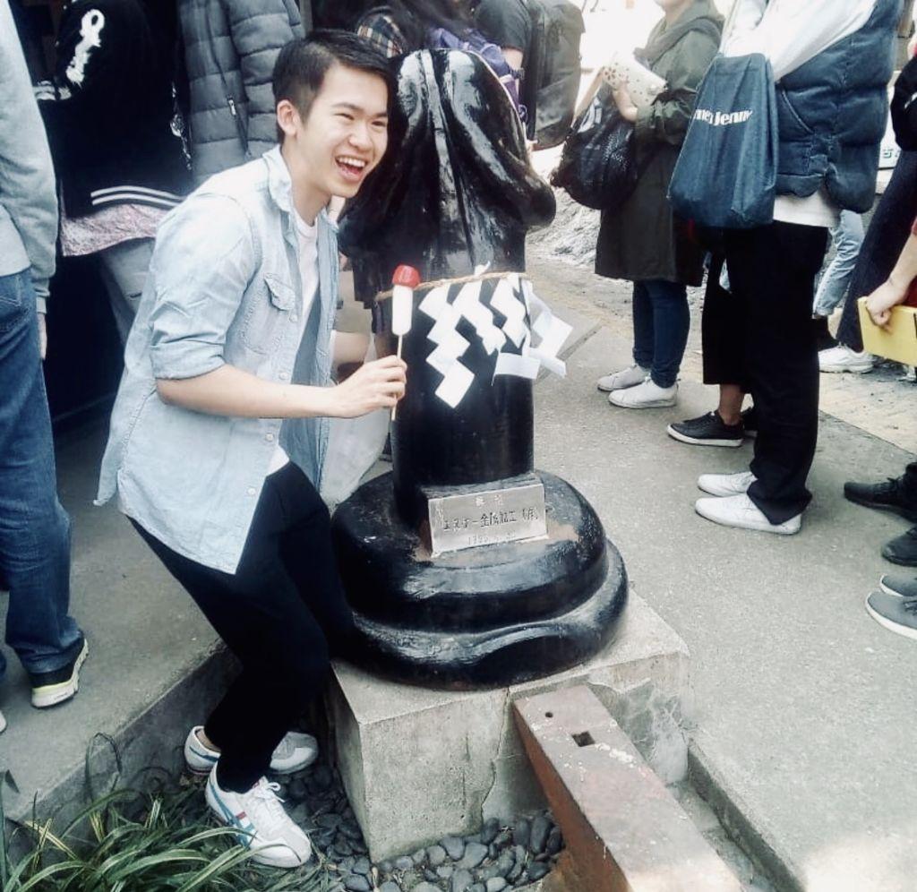 โลลิป็อปรูปปลัดขิก ศาลเจ้าปลัดขิก Kanayama jinja shrine