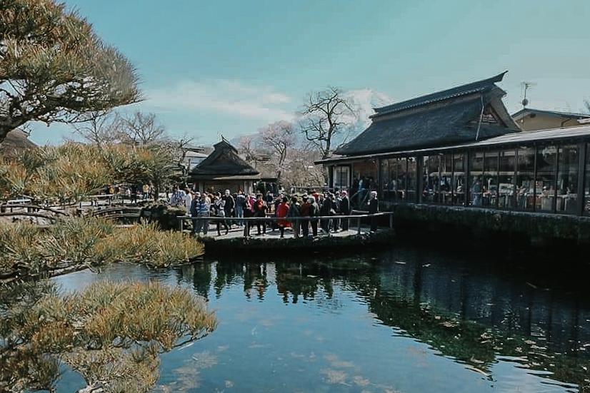 หมู่บ้านน้ำใสโอชิโนะฮัคไค(Oshino Hakkai Village)