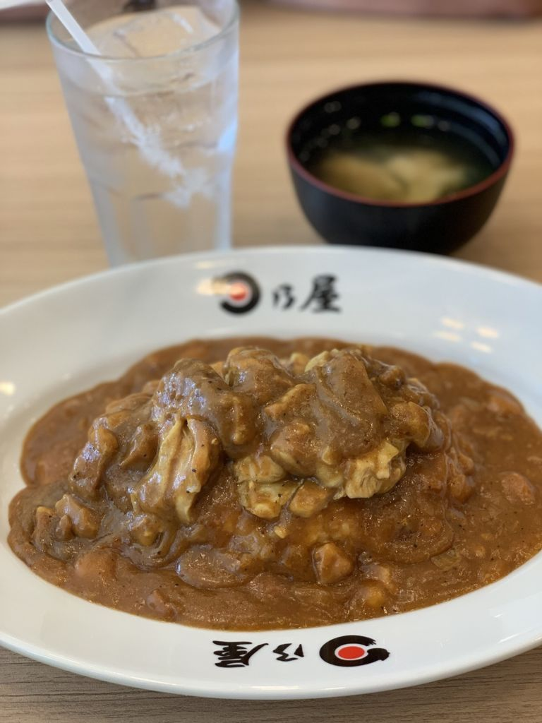 ข้าวแกงกะหรี่ไก่ ร้าน Hinoya Curry