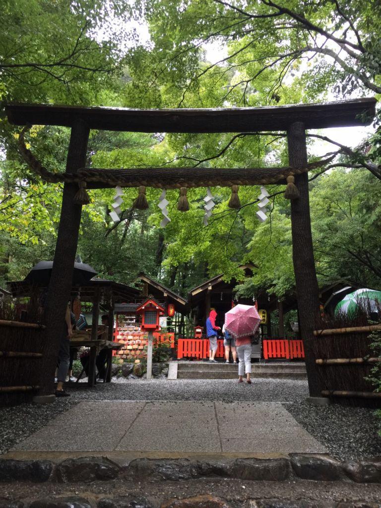 ศาลเจ้า Nonomiya เมืองอาราชิยาม่า เกียวโต