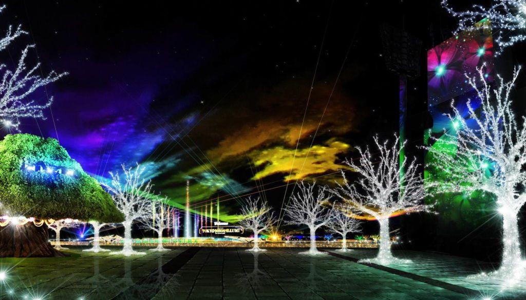 """งานประดับไฟ """" Tokyo Mega Illumination 2019 - 2020"""""""