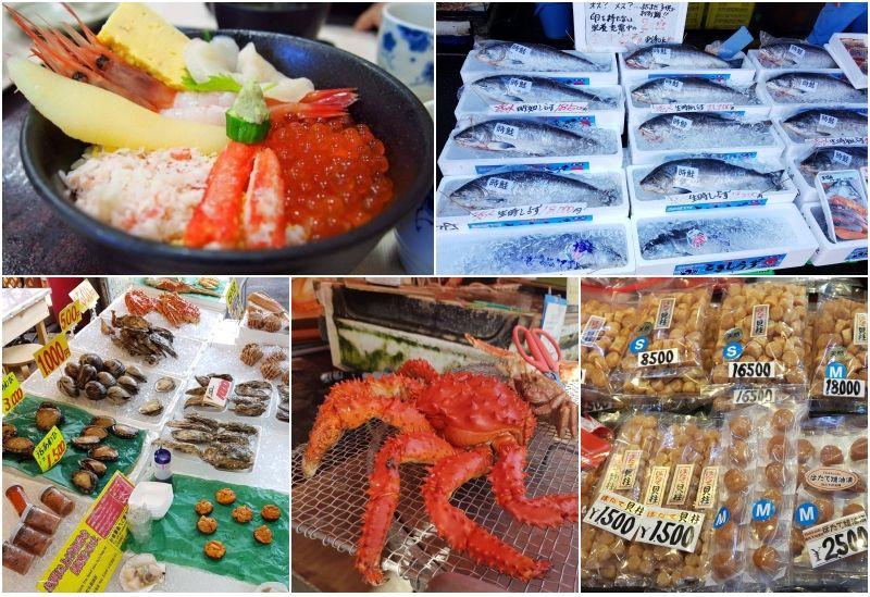 ตลาดเช้าเมืองฮาโกดาเตะ