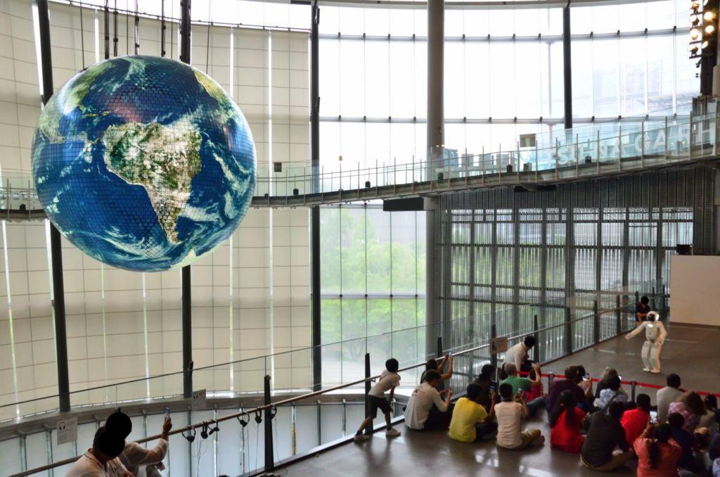 พิพิธภัณฑ์วิทยาศาสตร์ Miraikan โตเกียว