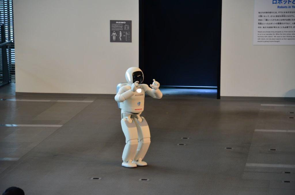 Asimo พิพิธภัณฑ์วิทยาศาสตร์ Miraikan โตเกียว