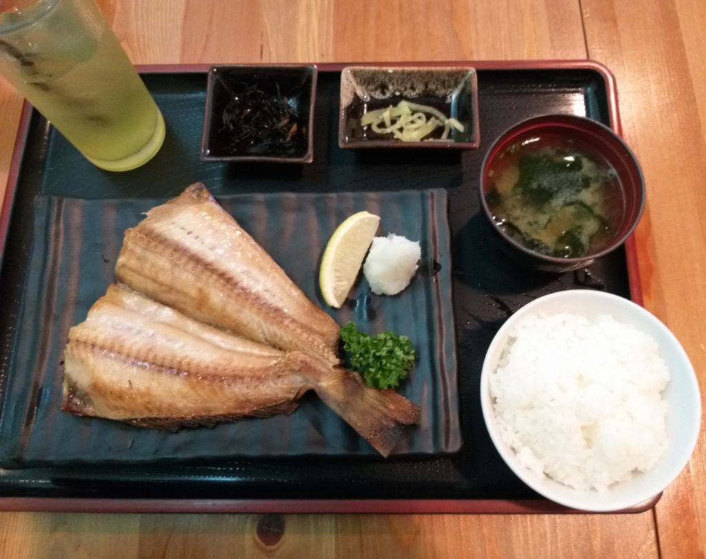 เซ็ตปลาฮอกเกะ Nanjya Monjya ร้านอาหารญี่ปุ่นในโรงแรม The Ascott Sathorn