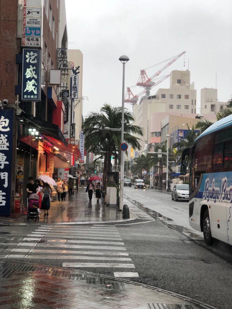 ถนน kokusai โอกินาว่า