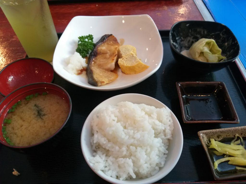 เซ็ตปลาหิมะย่างซีอิ๊ว Nanjya Monjya ร้านอาหารญี่ปุ่นในโรงแรม The Ascott Sathorn
