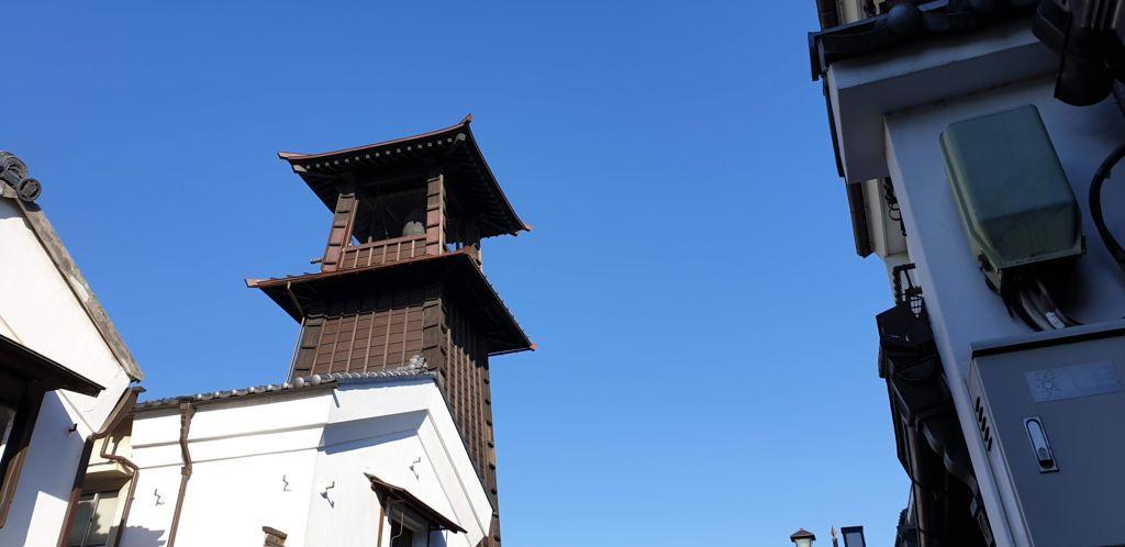 ระฆัง Toki no kane ในเมืองคาวาโกเอะ (Kawagoe)