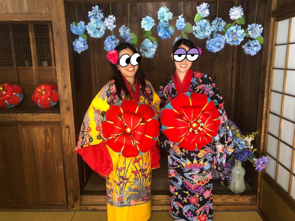 ถ่ายรูปที่ระลึก Okinawa World โอกินาว่า